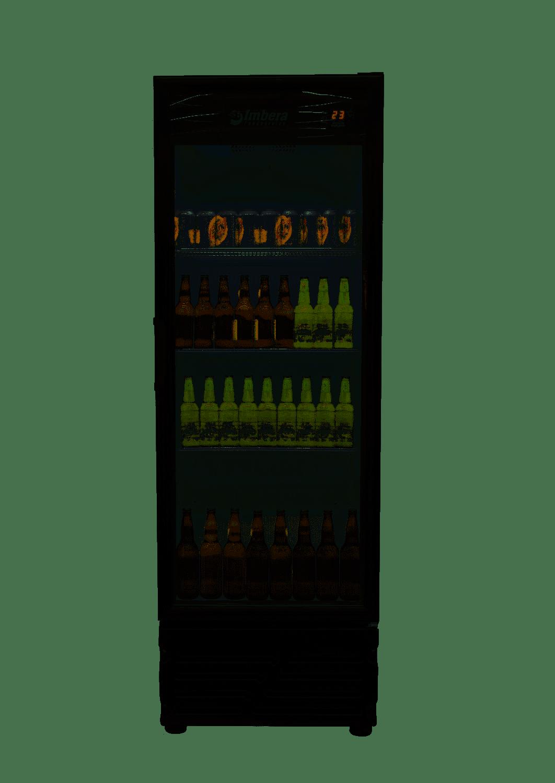 Cervejeira 550L Porta de Vidro Imbera - CCV355PV