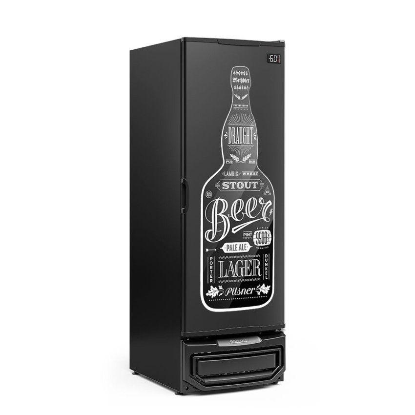 Cervejeira 570 Litros Porta Cega Gelopar - GCB-57 PR