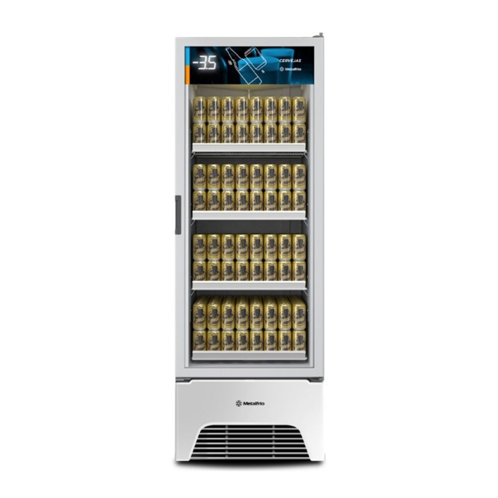 Cervejeira 572 Litros Porta de Vidro Branca Metalfrio - VN50AHD001