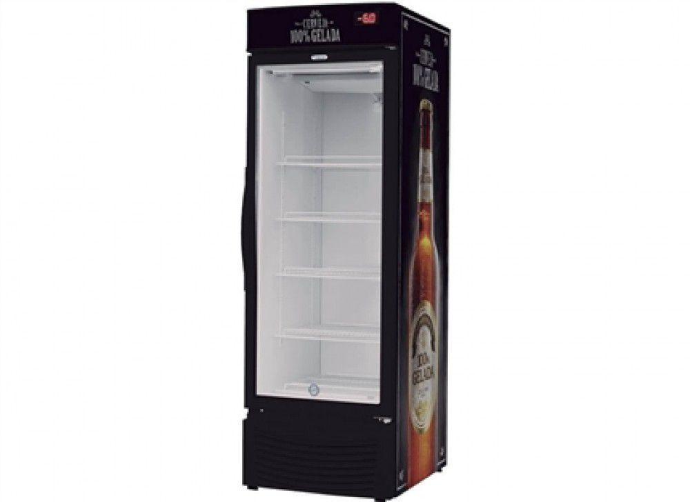 Cervejeira Slim 284lt - Porta Vidro