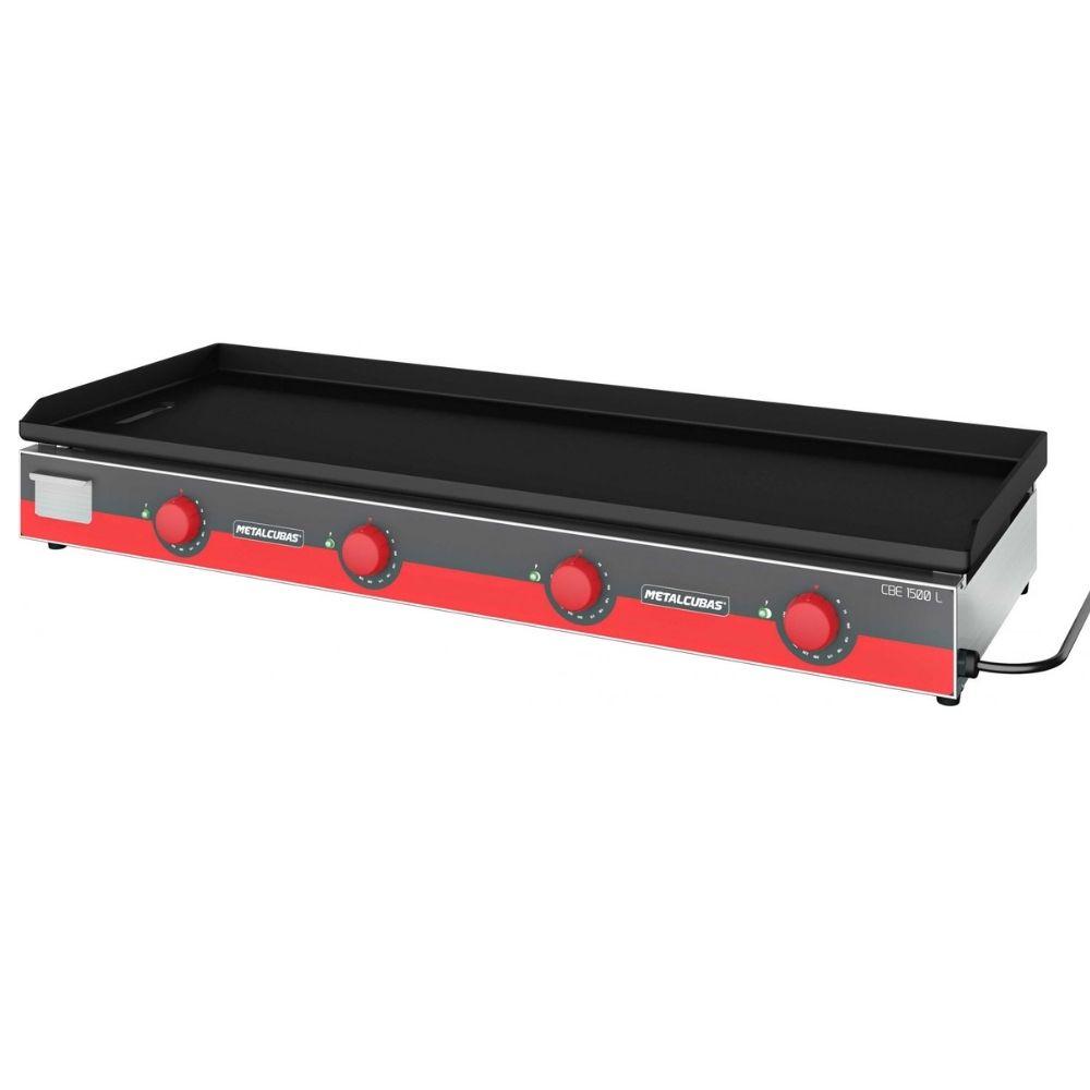 Chapa Bifeteira Elétrica Light 150cm Metalcubas - CBE1500L