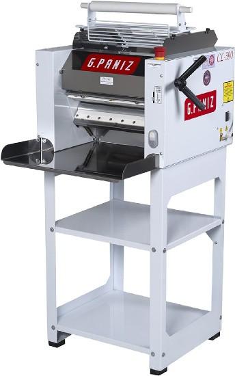 Cilindro Laminador com Pedestal CL390 Bivolt Automático Bandeja Inox