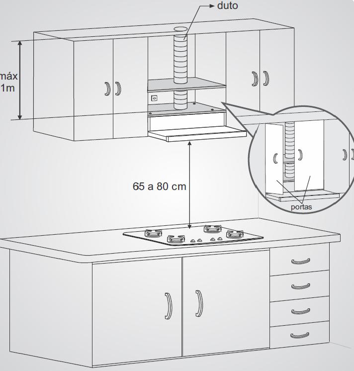 Depurador de Ar 60cm Fischer Slim - 5760