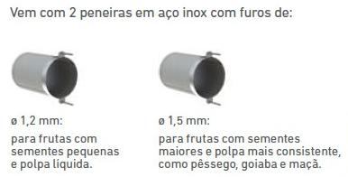 Despolpadeira de Frutas Industrial 60 Litros