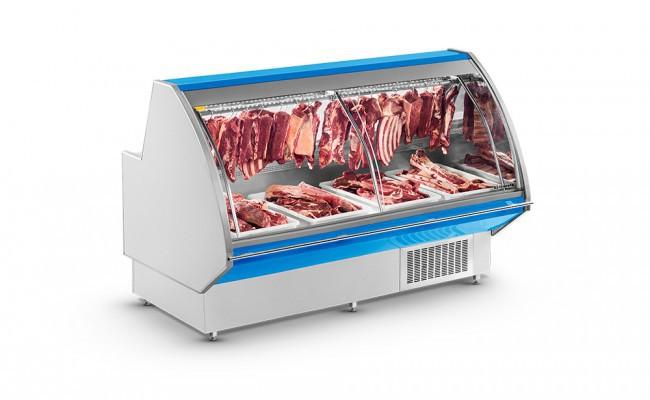 Expositor Açougue Premium Gancheira 1,5m Refrimate - EAPRG 1500