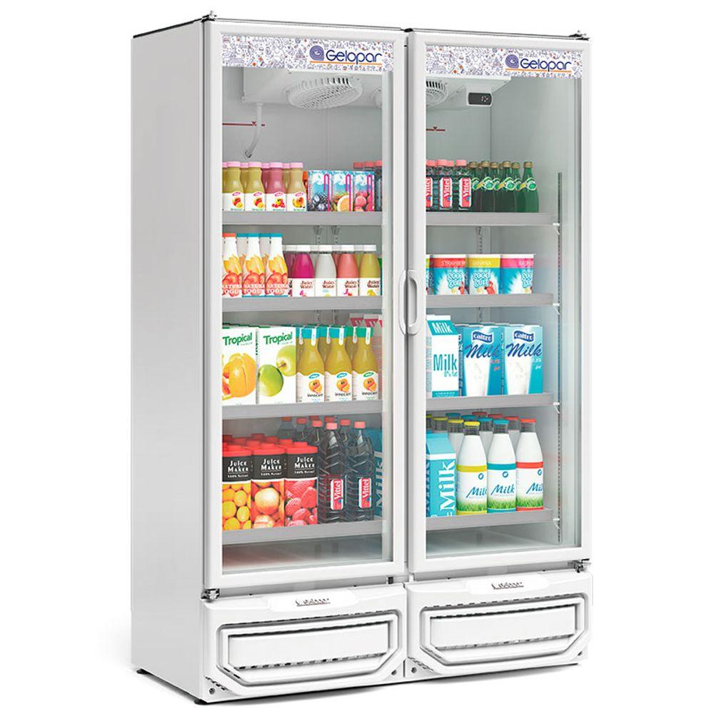 Expositor de Bebidas 2 Portas 957 Gelopar - GCVR-950 BR
