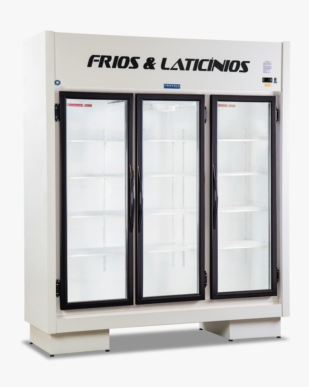 Expositor Frios e Laticínios 3 Portas Fortsul - EAS103RT