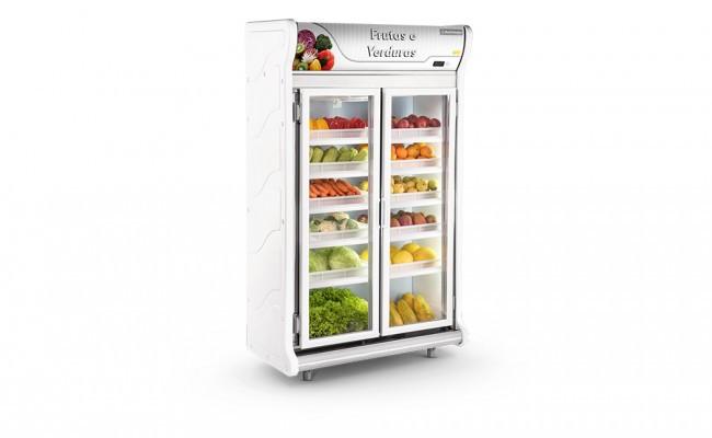 Expositor Frutas e Verduras 2 Portas Refrimate - ASFV1240