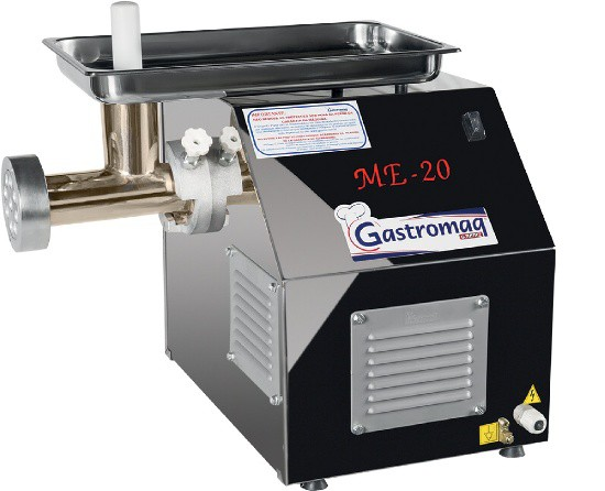 Extrusor de Massas com Moedor Inox Monofásico 1CV Gastromaq - EMC 20/10