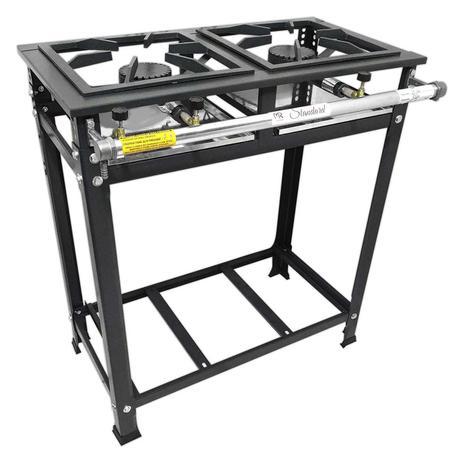 Fogão Standard 2Q Alta Pressão 30x30 Innal - FSPAP2BS
