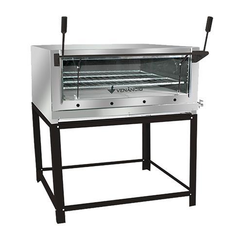 Forno Industrial a Gás 110cm Inox Venâncio - FIRI110