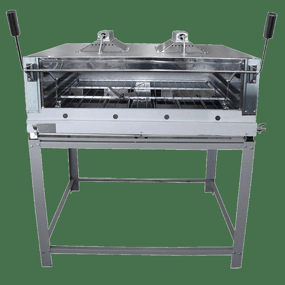 Forno Industrial a Gás 110cm Infra-Vermelho Inox Venâncio - FIRIV110