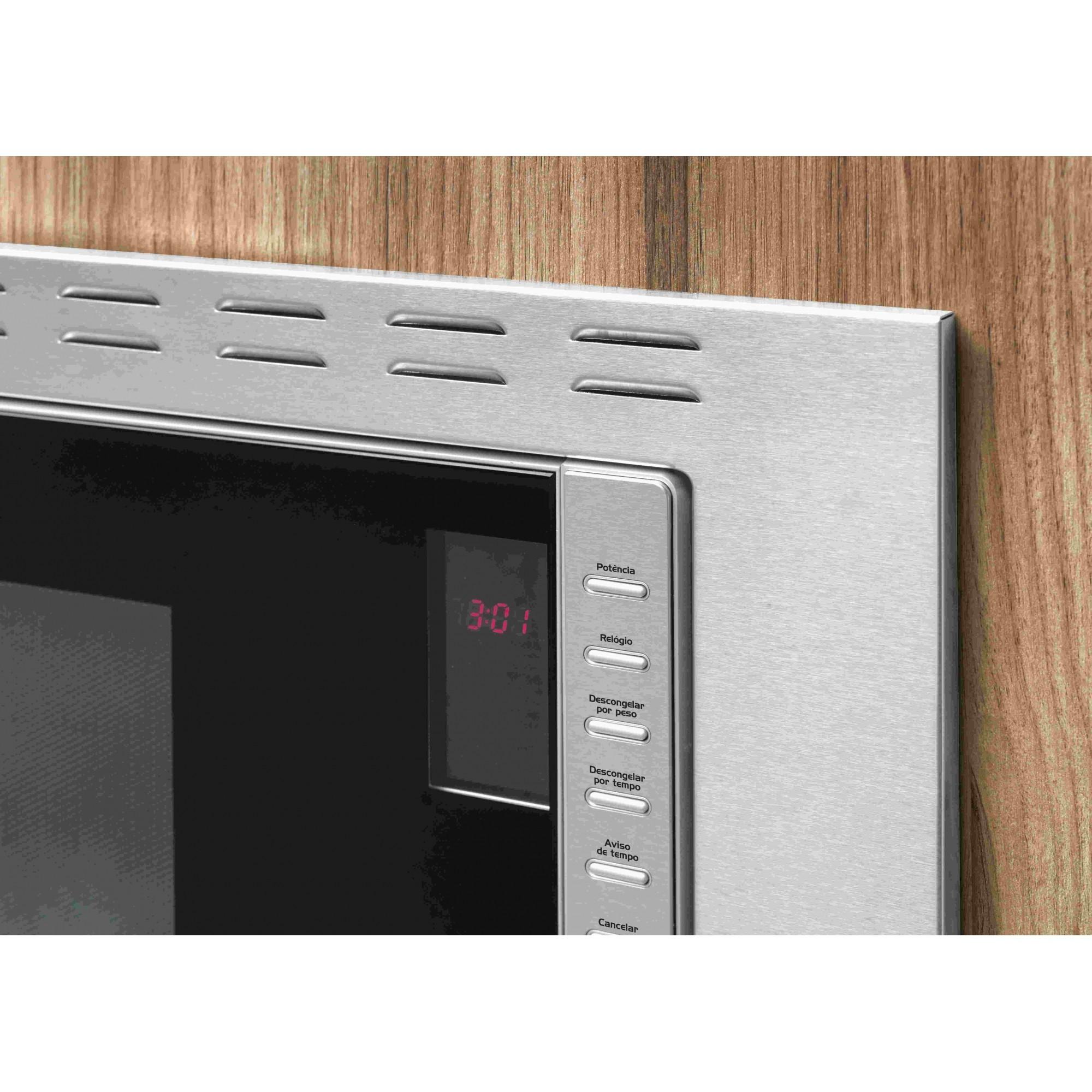Forno Micro-ondas Fischer Fit Line Embutir 25L Inox - 25873