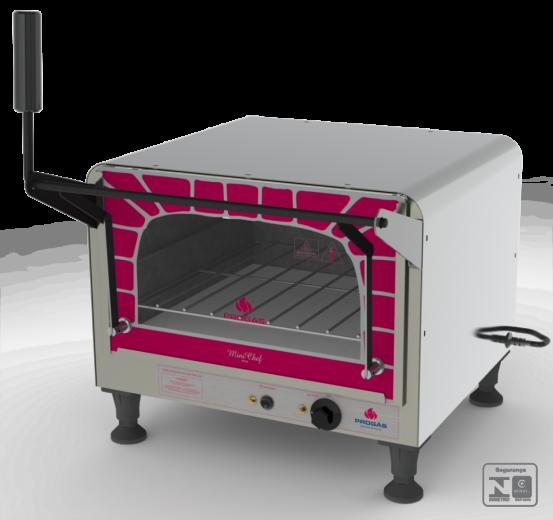Forno Refratário Elétrico Mini Chef 127v Progás - PRPE-400