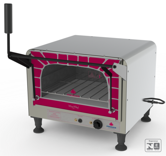Forno Refratário Elétrico Mini Chef 220v Progás - PRPE-400