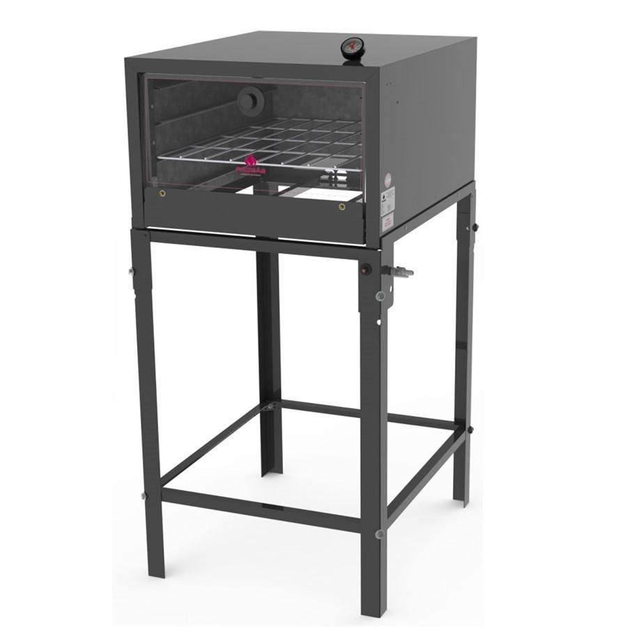 Forno Semi-Industrial com Pedra Refratária e Termômetro com Cavalete Progás - FSP-6800