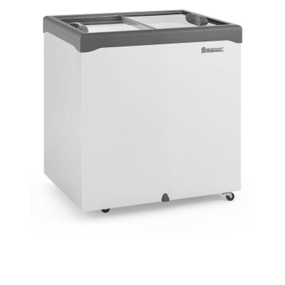 Freezer Horizontal 220 Litros Tampa de Vidro Gelopar - GHDE-220H