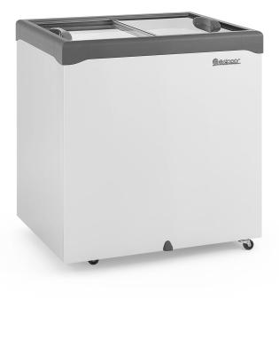Freezer Horizontal 310 Litros Tampa de Vidro Gelopar - GHDE-310H