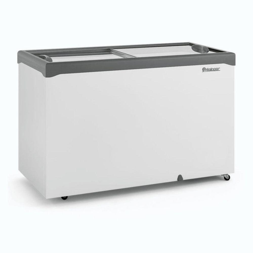 Freezer Horizontal  Gelopar 410L Tampa de Vidro GHDE-410H