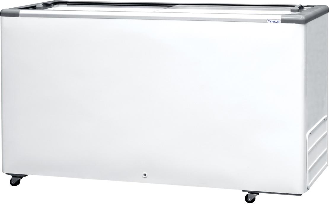 Freezer Horizontal 503L Tampa de Vidro Fricon - HCED503-2V999