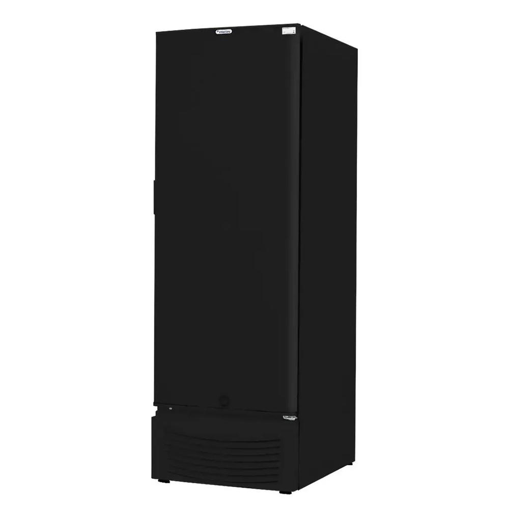 Freezer Vertical 284 Litros Porta Cega Preto Fricon - VCED284-2C001