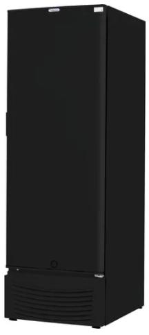 Freezer Vertical 569 Litros Porta Cega Preto