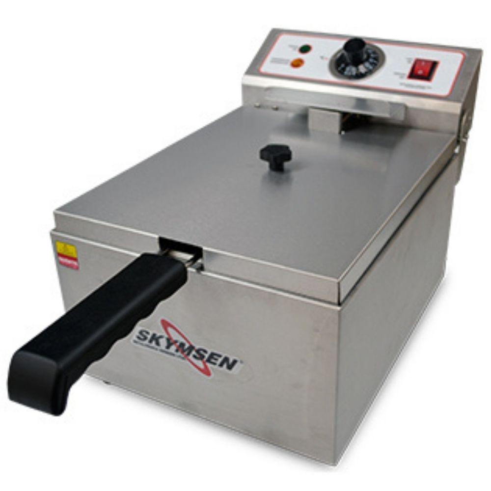Fritadeira Elétrica 5 Litros 1 Cesto Inox Skymsen - FE-10-N