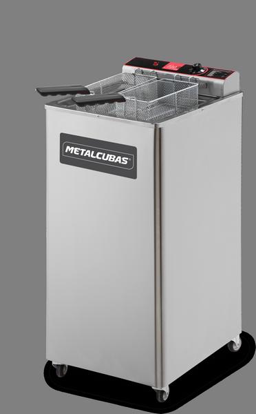 Fritador Elétrico 30 Litros de Pedestal 8000W Metalcubas - GFAO30P
