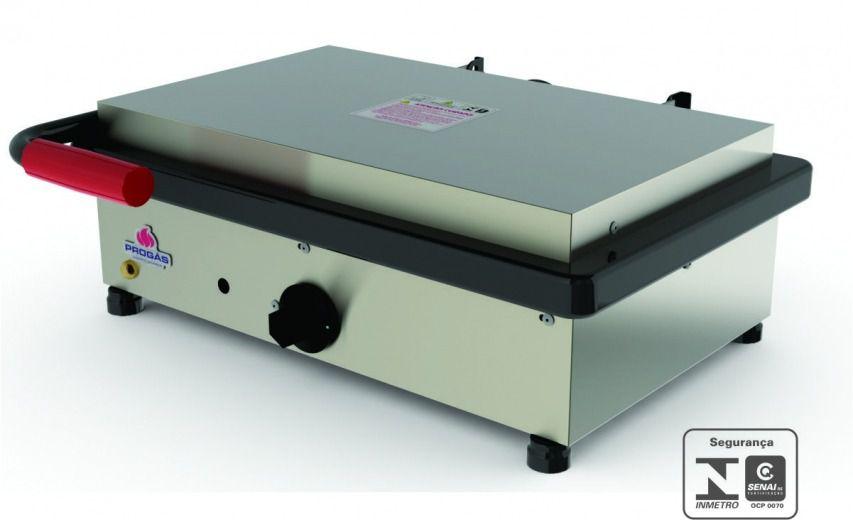 Grill Sanduicheira Elétrica Inox Progás - PR-500 E Style