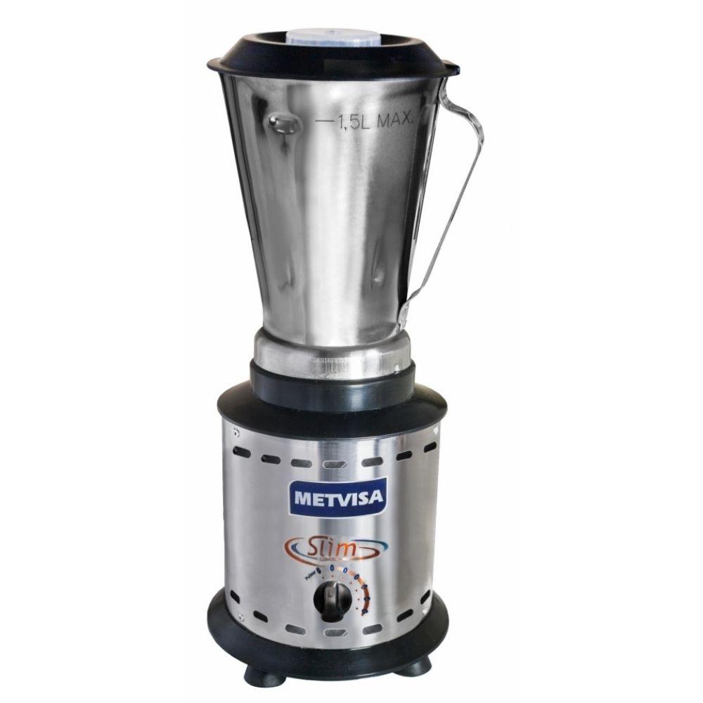 Liquidificador Alta Rotação 1,5 Litros Inox Metvisa - LARL1,5