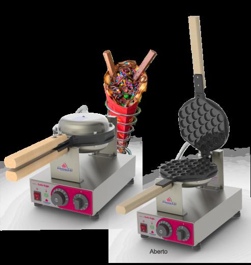 Maquina de Bubble Waffle Progás - PRKB-10