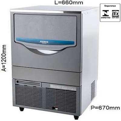 Maquina de Gelo 105 KG Macom - SRM105A