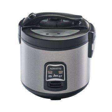 Panela elétrica de arroz e legumes ínox