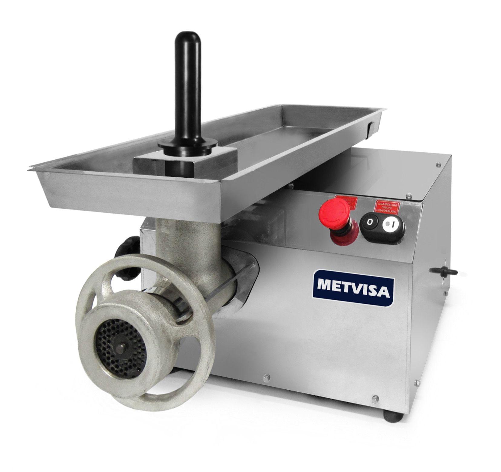 Picador Moedor de Carne Boca 10 Metvisa - PCL10L220M60N5