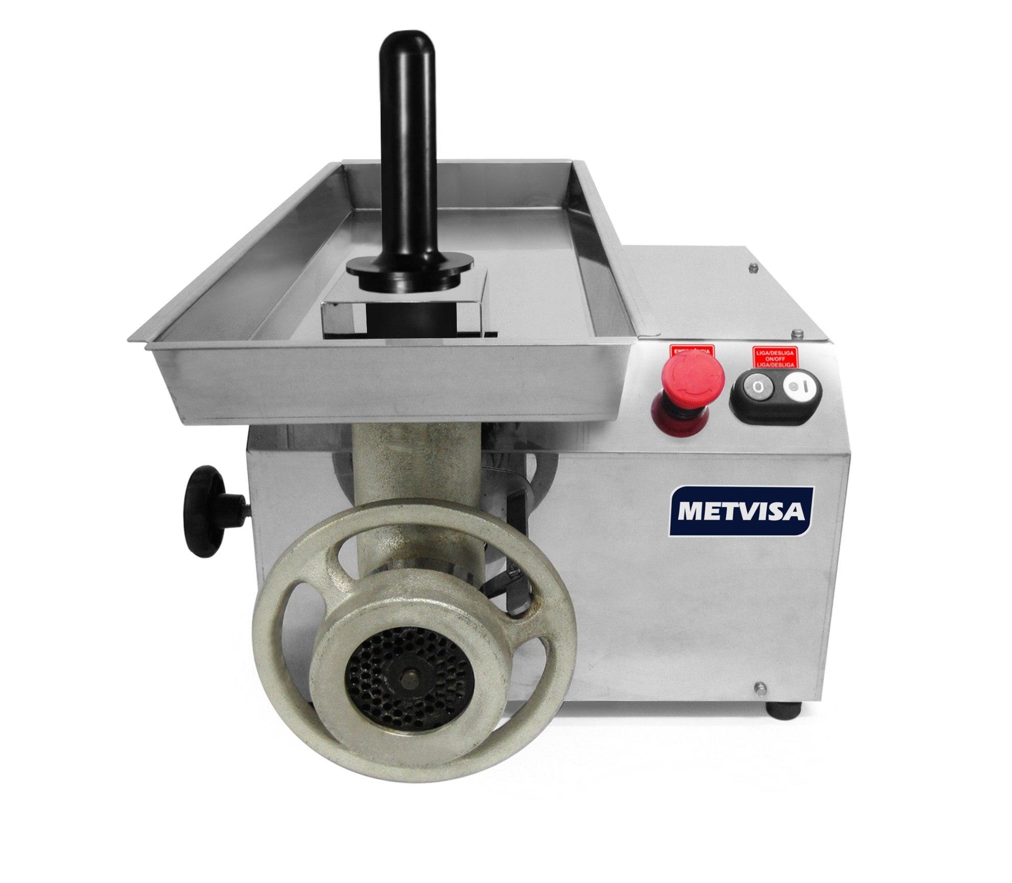 Picador Moedor de Carne Boca 22 Metvisa - PCL22L220M60N5