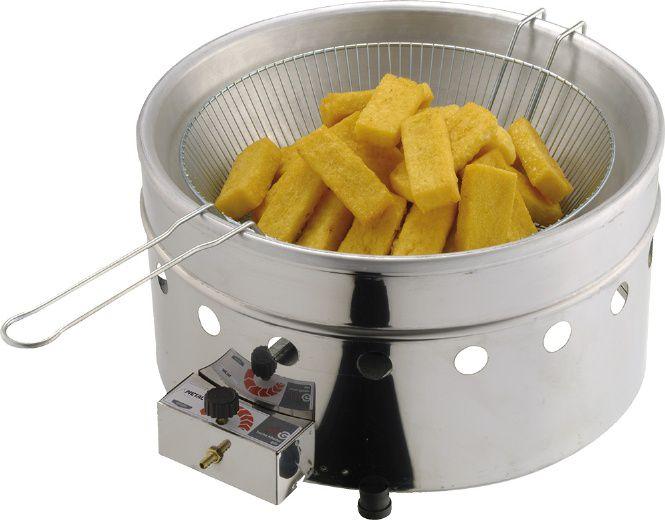 Fritadeira a Gás 5 litros Metalcubas - TFRG05