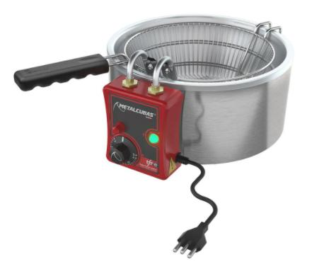Tacho Fritador Elétrico 5 Litros Metalcubas - TFRE05
