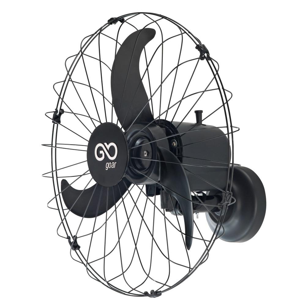Ventilador 60cm de Parede Preto Goar - V60PPRR2