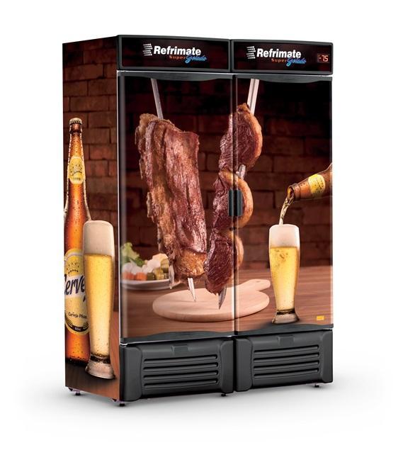 Visa Cooler Cervejeira 1300 Litros Porta Sólida Refrimate - VCC1300S