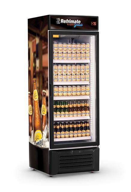 Visa Cooler Cervejeira 600 Litros Porta de Vidro Refrimate - VCC600V