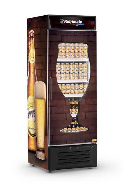 Visa Cooler Cervejeira 600 Litros Porta Carenada Refrimate - VCC600CA