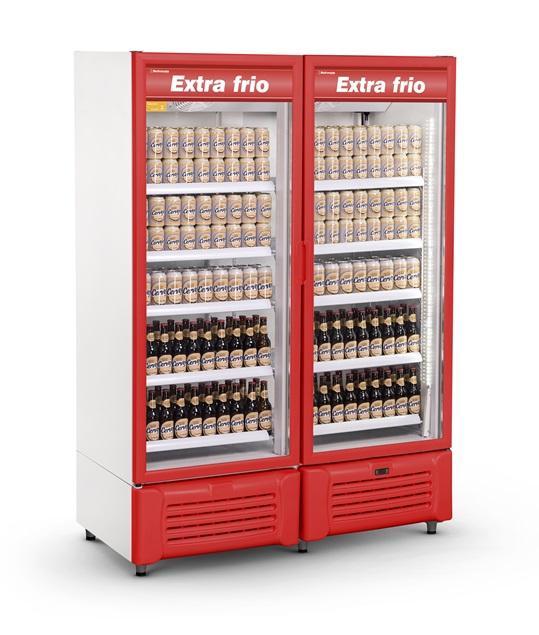 Visa Cooler Cervejeira 1300 Litros Porta de Vidro Refrimate - VCEXF1300