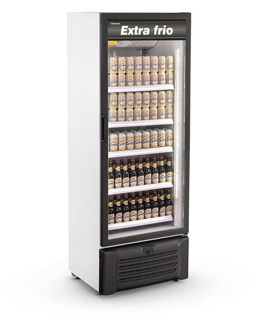 Visa Cooler Cervejeira 600 Litros Porta de Vidro Refrimate - VCEXF600