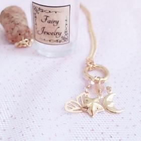 Colar Fairy Jewelry Folheado