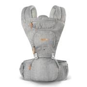 Canguru Para Bebê Fisher Price Hipseat 5 Posições 15kg Cinza