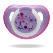 Chupeta First Moments Glow Tam 1 Rosa Com Case Fisher Price