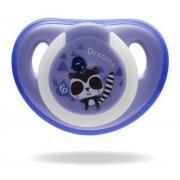 Chupeta Silicone Fisher Price Menino Tamanho 1 Glow Azul 0+m