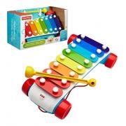 Xilofone Instrumento Musical Brinquedo Fisher Price Mattel