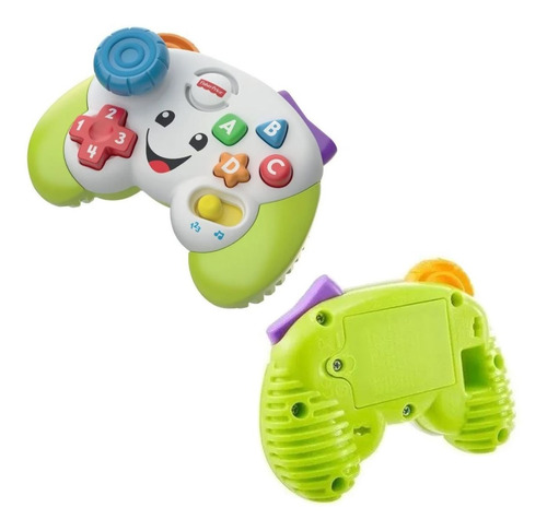 Brinquedo Controle Video Game Educativo Musical Fisher Price