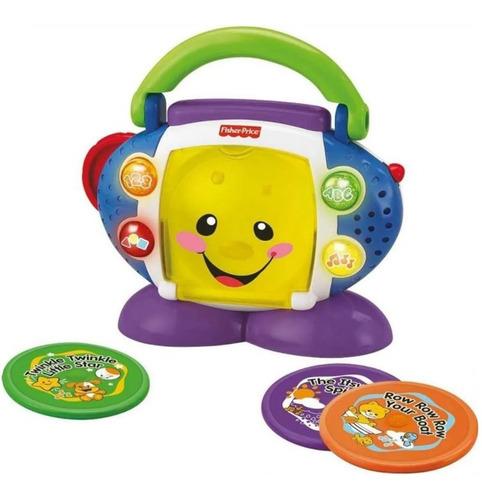Brinquedo Educativo Pedagógico Cd Player Fisher Price Mattel